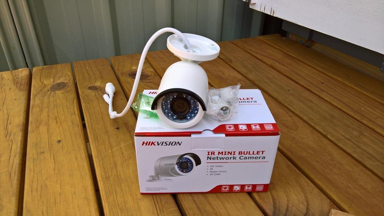 Diy Installing Hikvision Network Camera Youtube
