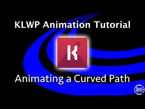KLWP Animation Tutorial - Animating a Curved Path thumbnail