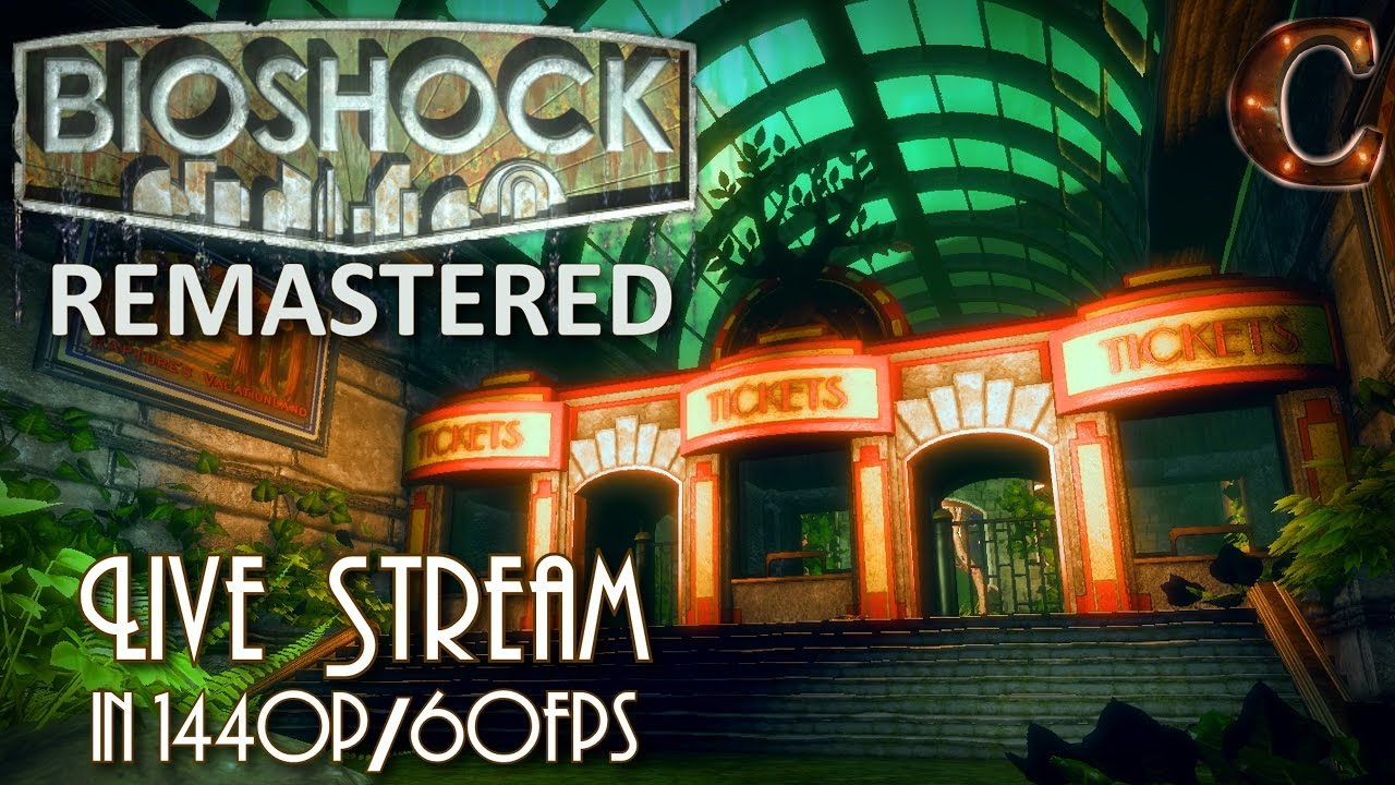 Bioshock Remastered, in 1440p / 60fps on Survivor Mode! Part 6: Stuck in  Arcadia & Research Lab