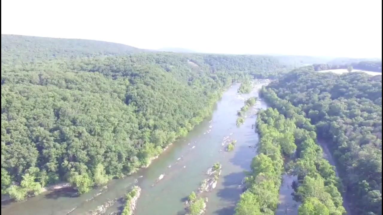 Blue Ridge Mountains West Virginia Map.Shenandoah River Blue Ridge Mountains West Virginia Youtube