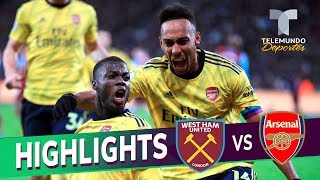 West Ham vs. Arsenal: 1-3 Goals & Highlights | Premier League | Telemundo Deportes