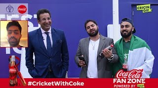 Pakistan vs South Africa: Coca Cola Fan Zone powered by Cricingif