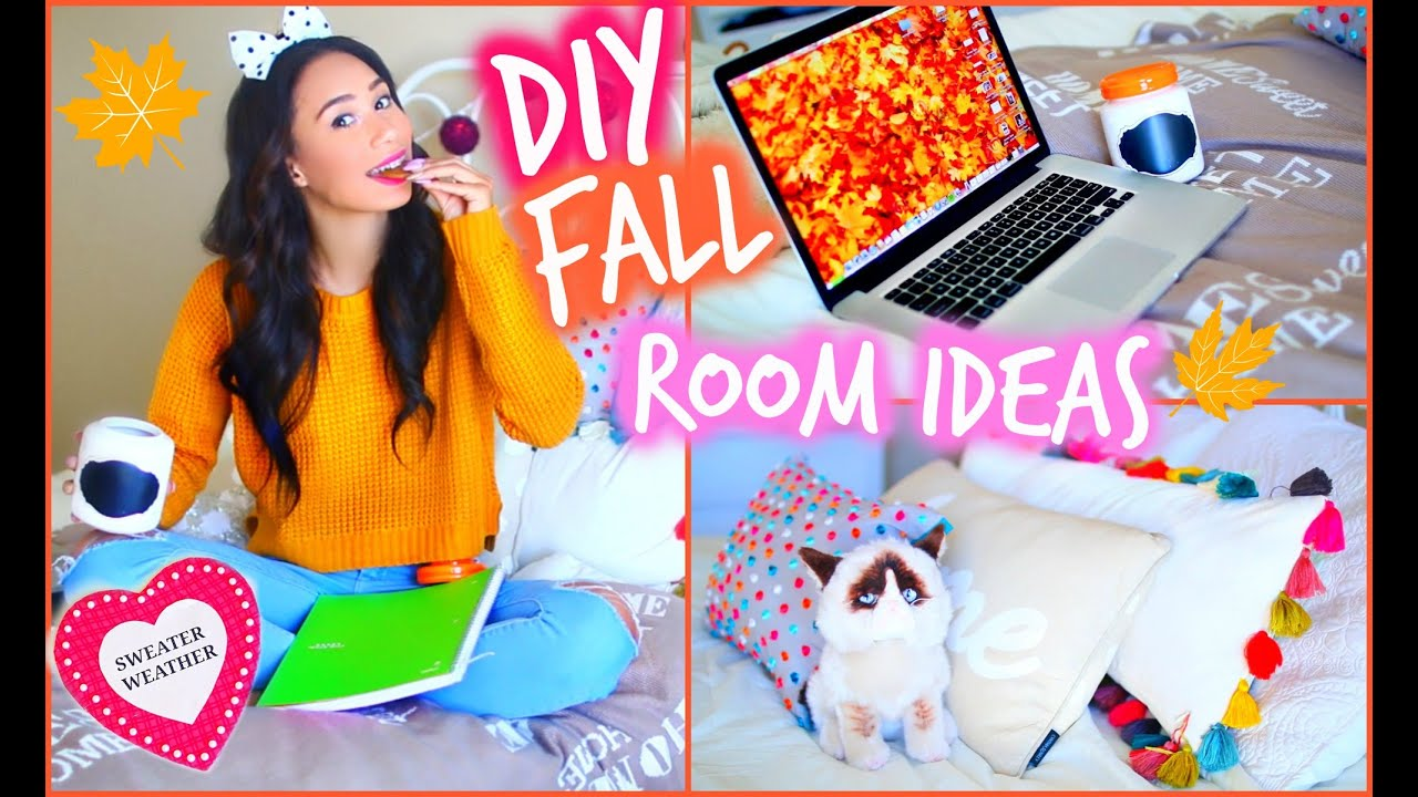 Delightful Make Your Room Cozy For Fall! DIY Room Decorations For Cheap   YouTube