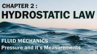 Pressure in a static Fluid | Fluid Mechanics