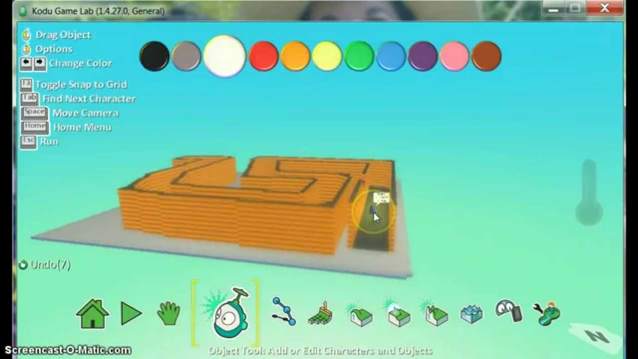 Kodu Game Lab : Creating a Maze Game Pt. 1 - YouTube