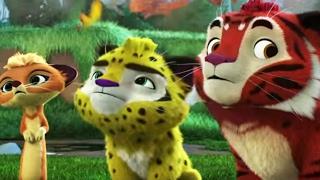 Лео и Тиг -  Трейлер 4 серии нового мультфильма о тайге и её жителях для детей
