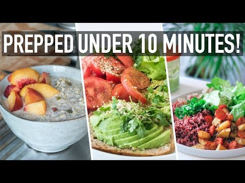 WHAT I EAT IN A LAZY COOKING DAY (quick, vegan & healthy)