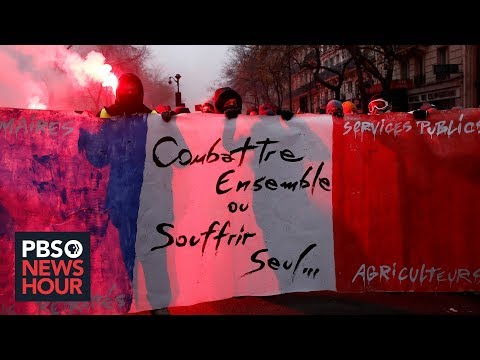 Why French protests over pensions could threaten Macron's international agenda