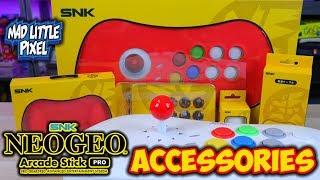 SNK Neo Geo Arcade Stick Pro Accessories Review!