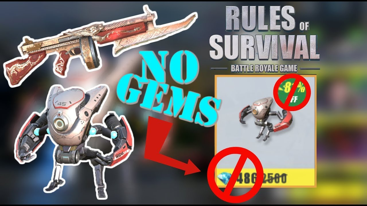 how to buy gems in rules of survival