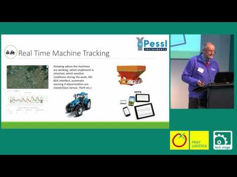 Fruitlogistica Techstage Session Sentek and Pessl Instruments