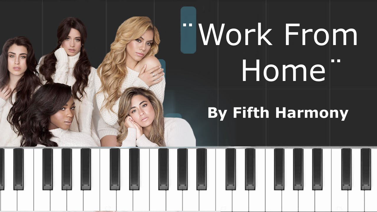 piano work from home
