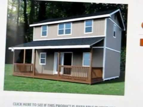 Watch on cabin storage building plans