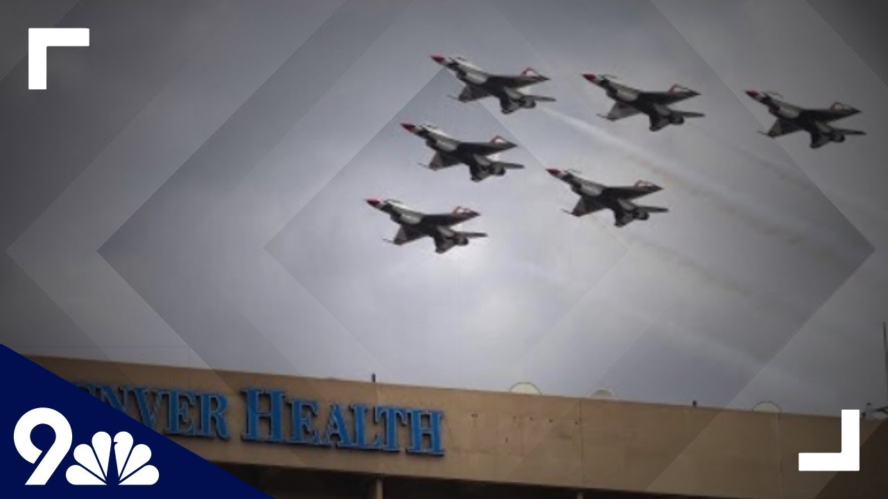 Blue Angels and Thunderbirds flyover to honor coronavirus ...
