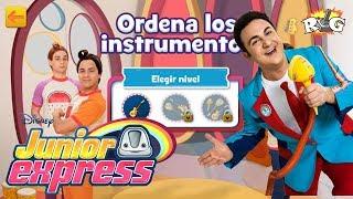 Junior Express | Ordena los Instrumentos de los Rulos | Disney Junior
