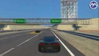 gt5   drag race chevrolet corvette zr1 c6 09 vs tvr cerbera speed 12 00
