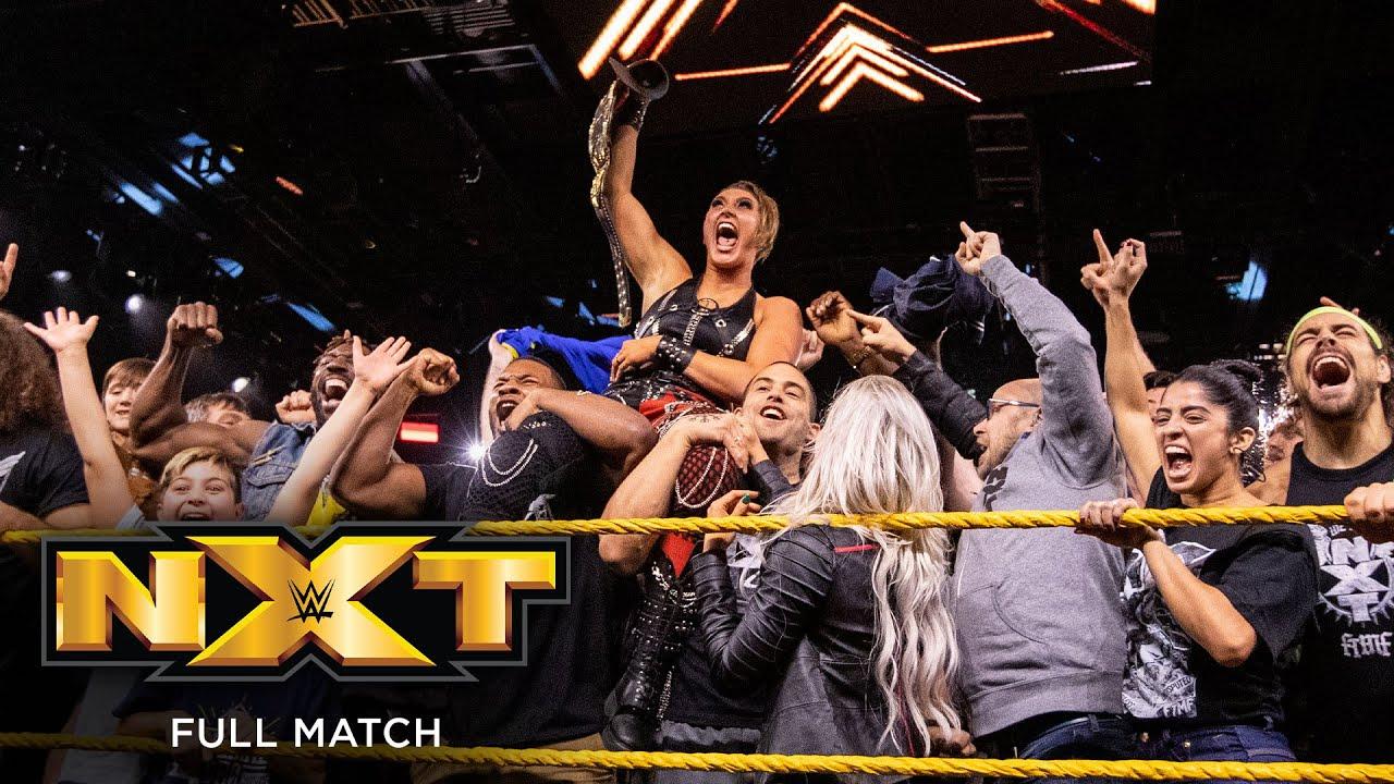 FULL MATCH - Shayna Baszler vs. Rhea Ripley – NXT Women's Championship Match: NXT, Dec. 18, 2019