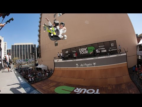 Dew Tour LA 2015: Skateboard Vert Highlights
