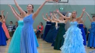 Tyttöjen tanssi 2014 Vammalan lukiolla