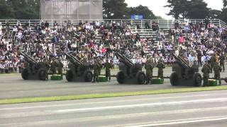 "Tchaikovsky ""1812 Overture"" with 105mm Cannons 20101017 (1/2)"