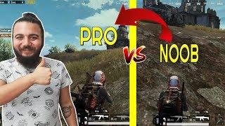 PUBG Mobile EN ÇOK YAPILAN 12 HATA ! Pubg Mobile Pro Taktikler (Pro vs Noob)