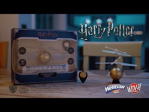 Harry Potter - Golden Snitch Heliball by Wow! Stuff