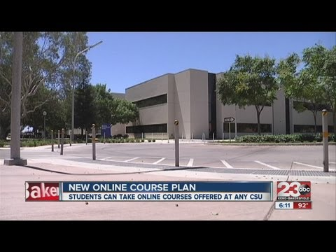California State University unveils new plan for online education