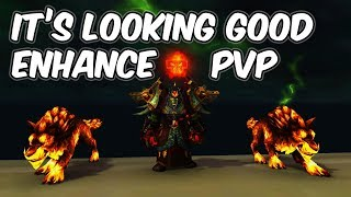 It's Looking Good - 8.0 Enhancement Shaman PvP - WoW BFA