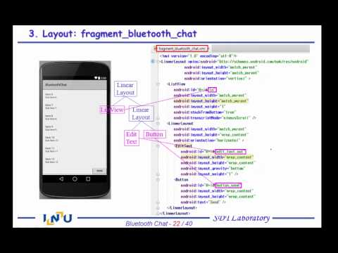 Android App Programming 4-2 Bluetooth Chat - YouTube