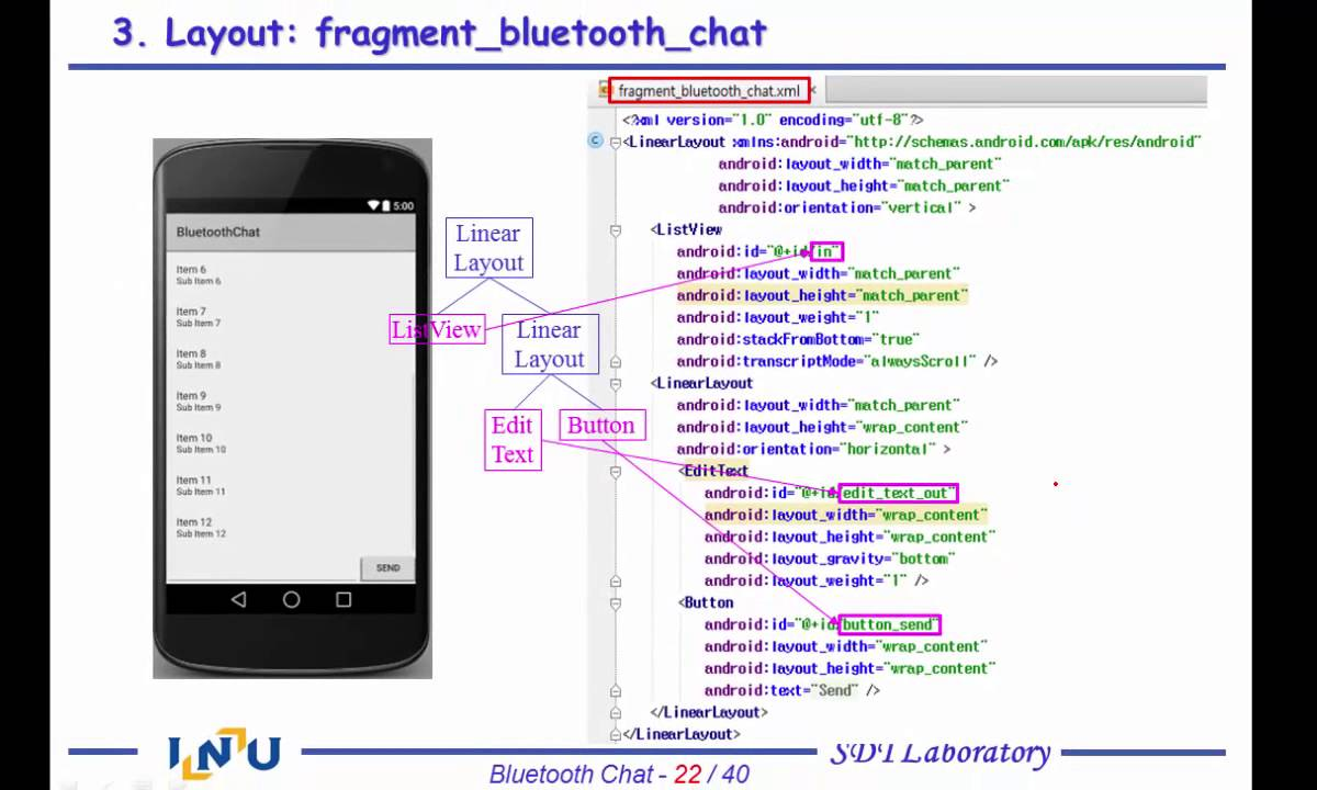 Android App Programming 4-2 Bluetooth Chat