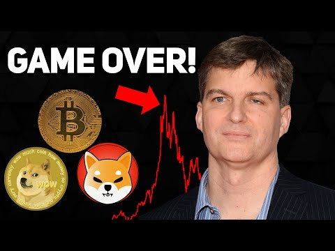 GAME OVER! Michael Burry Claims CRYPTO CRASH IS COMING!