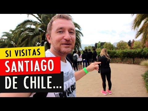SANTIAGO DE CHILE Y LOS VIÑEDOS: si vas a correr el Maratón, visitalos.