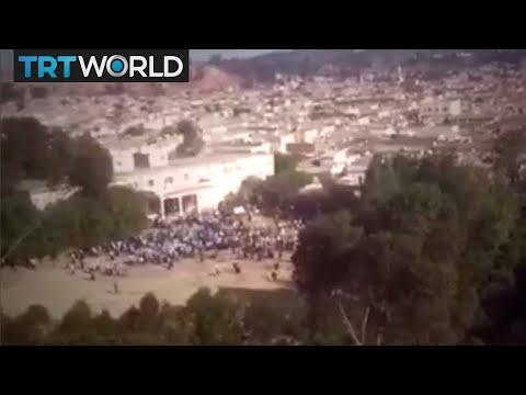 Eritrea's rare protest