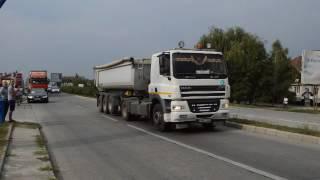 Protestul transportatorilor Satu Mare1