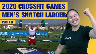 2020 Crossfit Games Mens Speed Snatch Ladder - Olympic Lifting Coach Reacts - Finale I WuLift