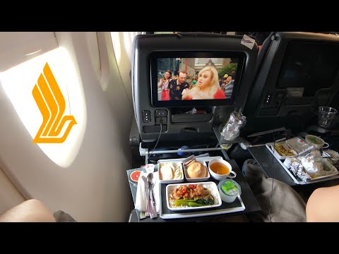 SINGAPORE Airlines NEW A380 ECONOMY Class: SQ861 Hong Kong To Singapore