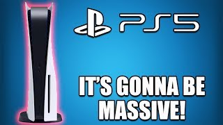 Sony CONFIRMS The PS5 Will Be A HUGE Console. Here's Why...