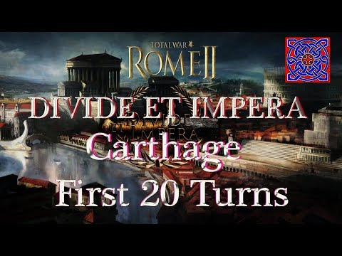 Carthage : First 20 Turns :: Total War Rome II - Divide Et Impera  1.2.2