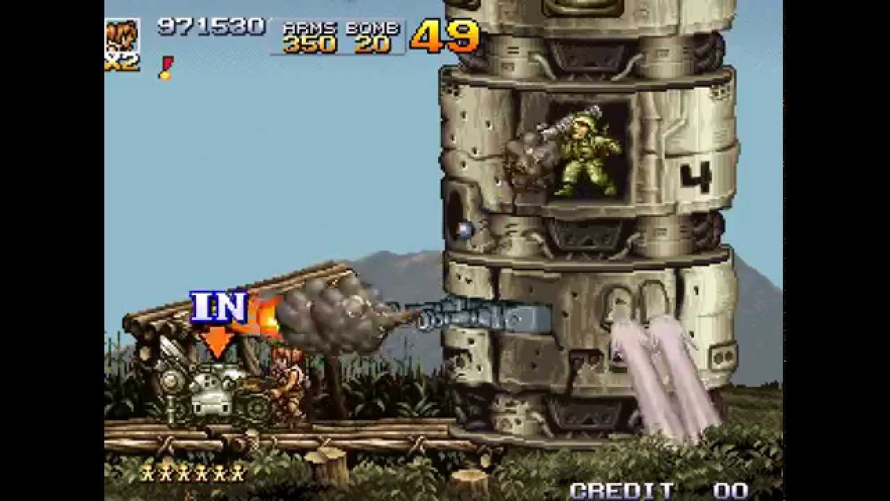 Metal Slug 4 — No Death Run (Nadia)
