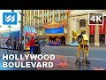 Walking around Hollywood Boulevard in Los Angeles, California 【4K】