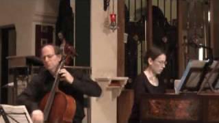 Boismortier: Allemanda (Bakamjian, Pechefsky, Brooklyn Baroque)
