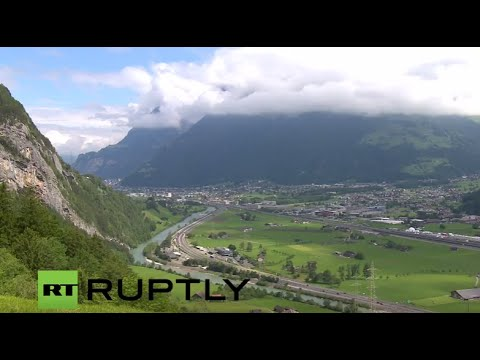 LIVE: World's longest tunnel to open in Gotthard massif