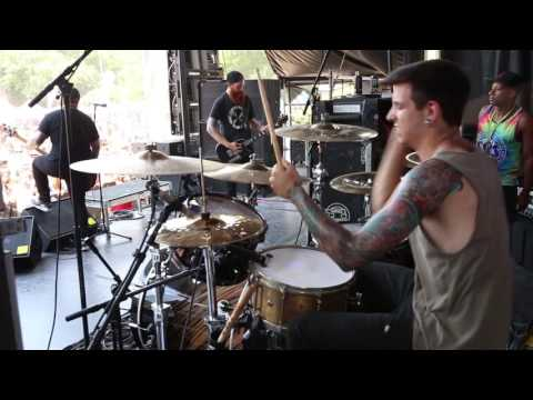 The Color Morale - Smoke and Mirrors [Steve Carey] Drum Video Live [HD]