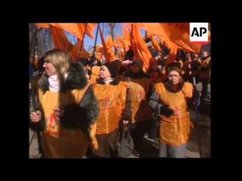 Rallies ahead of parliamentary election on Sunday