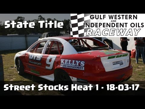 Street Stocks Heat 1 - Latrobe Speedway 18-03-17