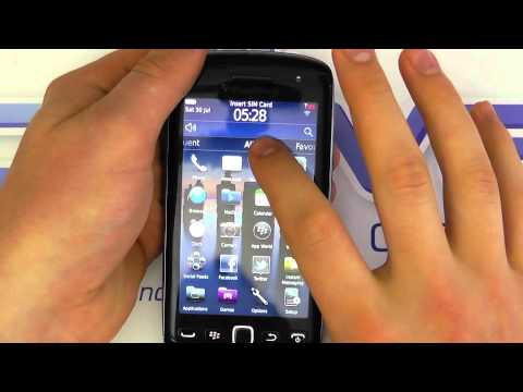 BlackBerry Torch 9860 (Monza) Hands on Tour & Demo