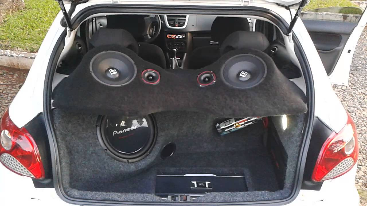 Peugeot 207 Xr I By Jbl Pioneer Youtube