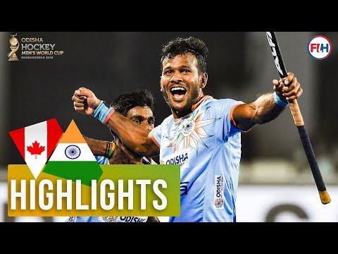 Canada v India | Odisha Men's Hockey World Cup Bhubaneswar 2018 | HIGHLIGHTS