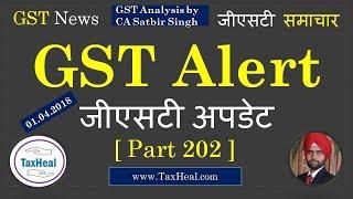 GST News [Part 202] by TaxHeal.com