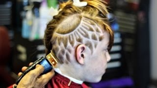 haircut freshest sunflower design hd